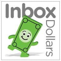 Inbox Dollars surveys company logo with a cartooned green cash note