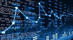 Screengrab of a stock market screen