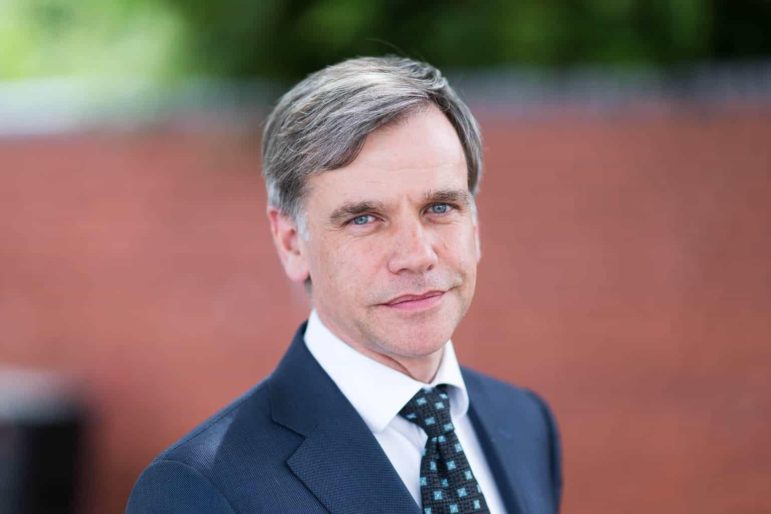 British Business Bank CEO Keith Morgan