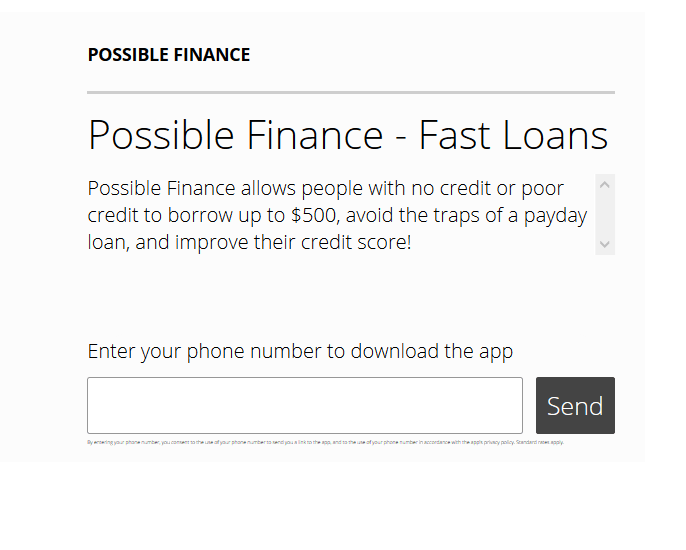 Possible Finance Review –...
