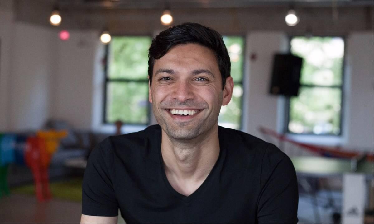 Bunq founder and chief executive Ali Niknam