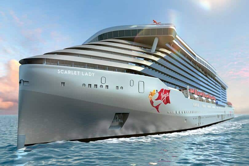 Billionaire Richard Branson is all at sea with cruise liner launch