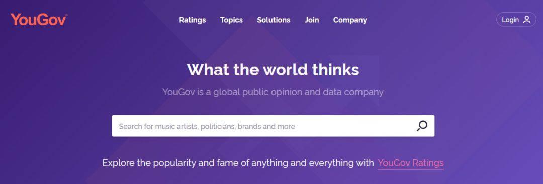 homepage YouGov