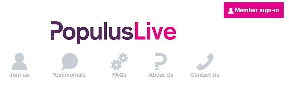 populus homepage