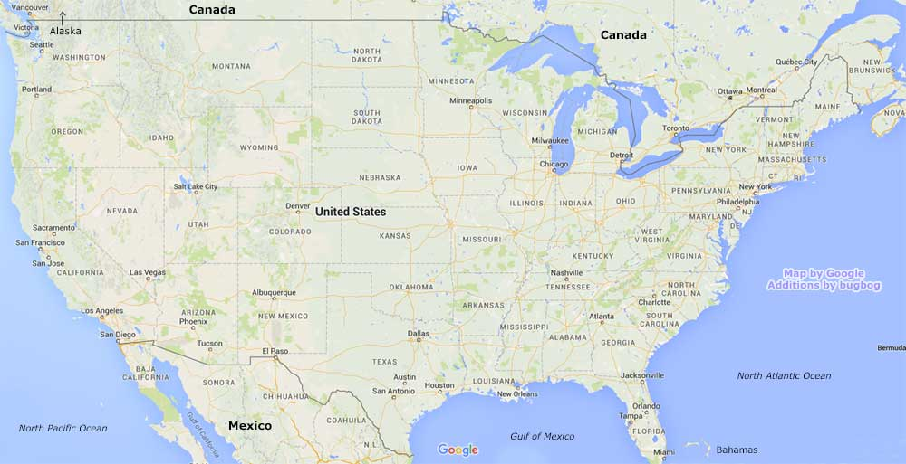 Payday Loan Providers Near Me Map | Learnbonds