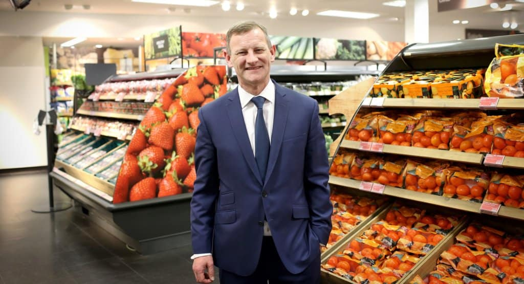 M&S stock chief executive Steve Rowe