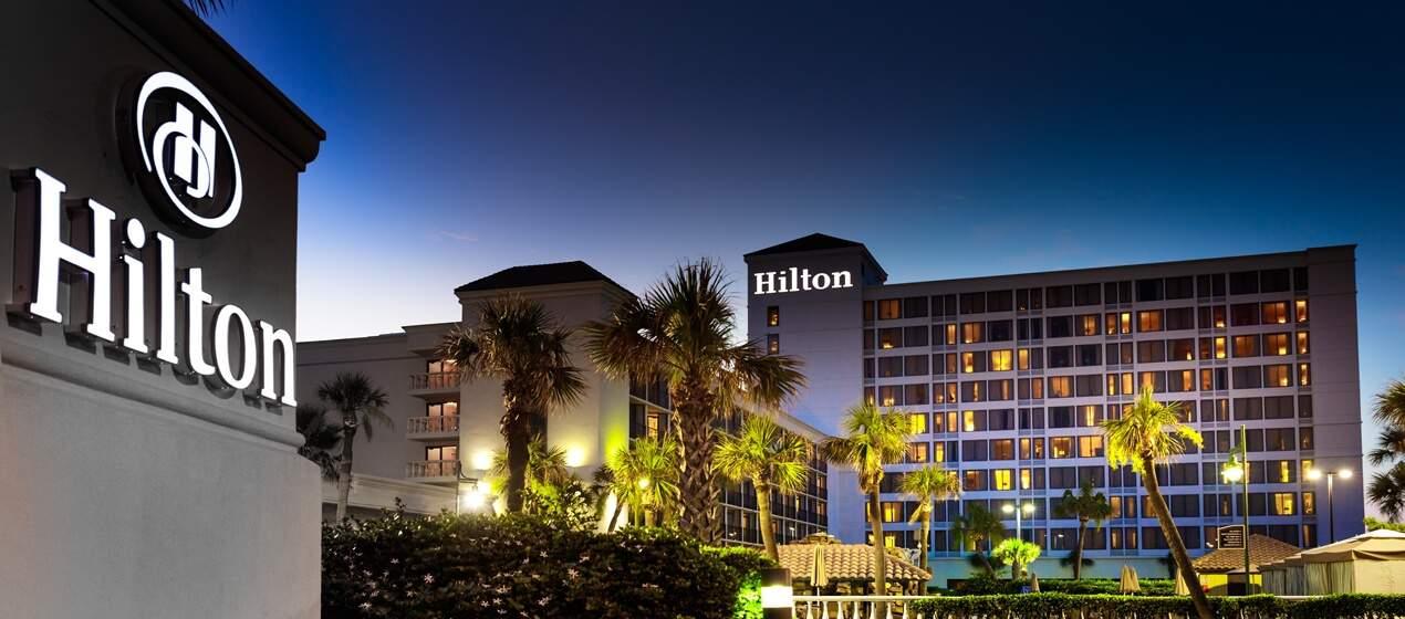 Hilton stock
