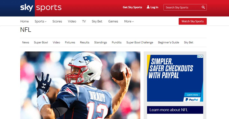 NFL Sky Sports