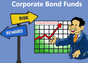 Bond funds allow you to invest in corporate bonds that would otherwise be difficult to access