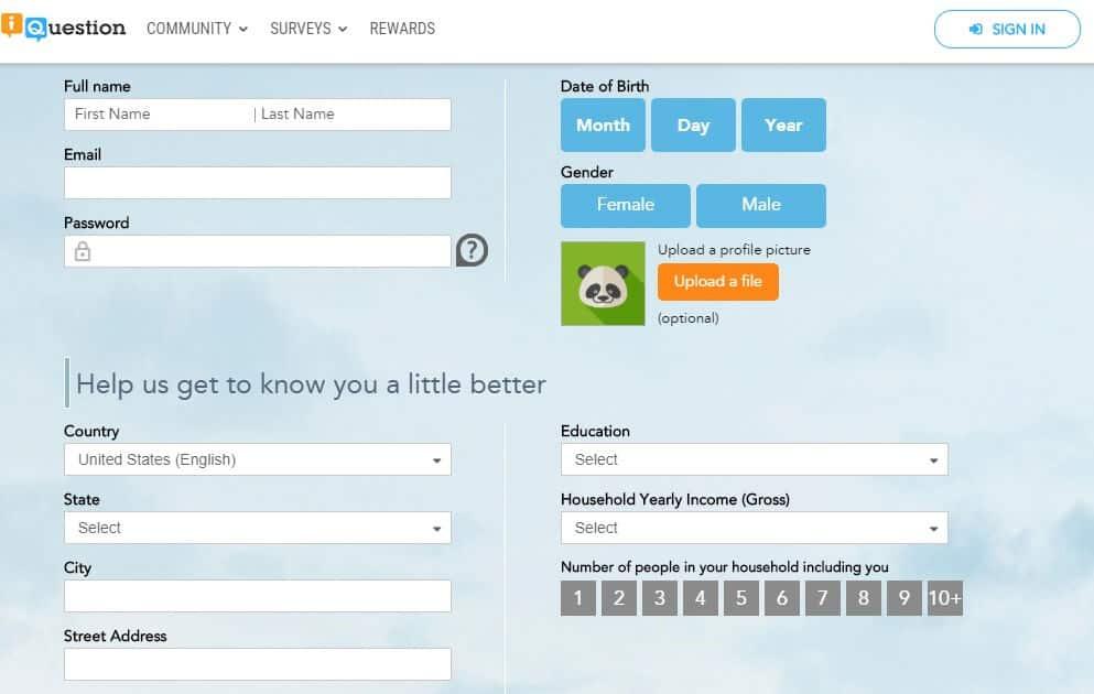 iquestion profile