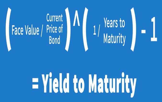 yield to maturity of a zero-coupon bond