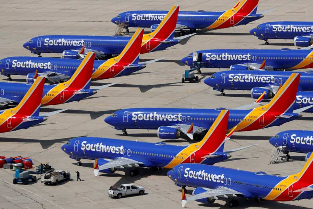 Southwest Airlines stock