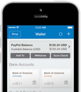 Once you withdraw your funds back to your Paypal account, you can then cash them out to your bank account