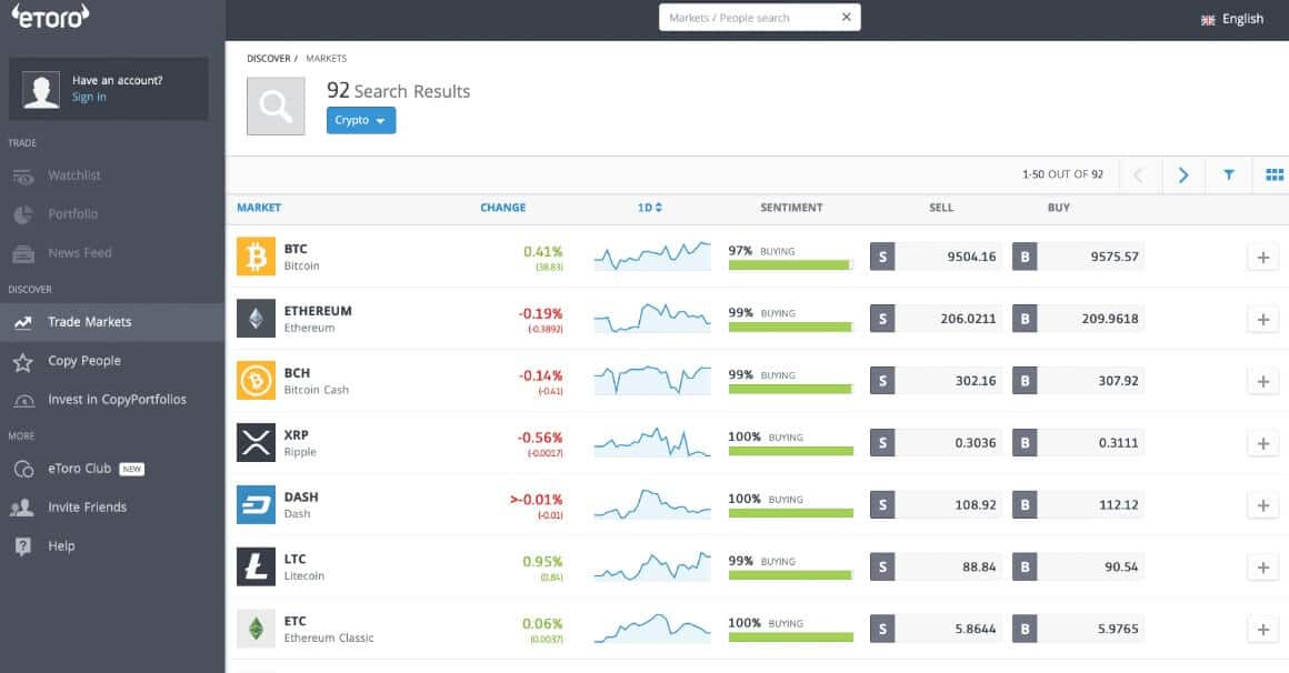 etoro platform interface