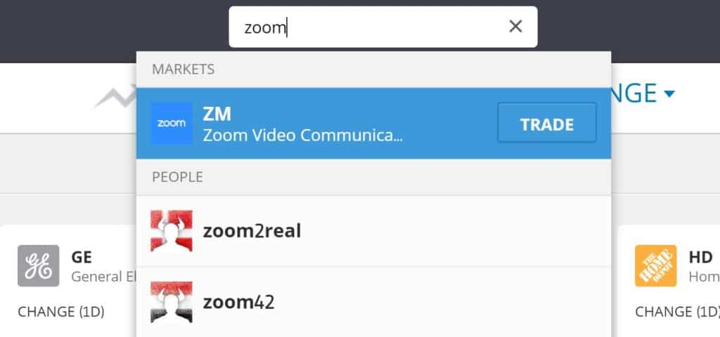 How to buy Zoom stocks on eToro | Learnbonds