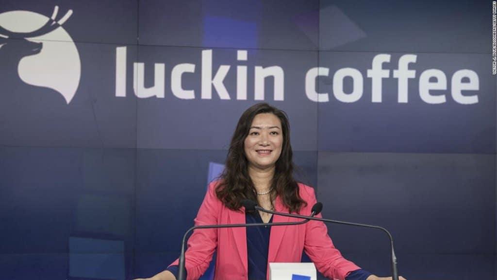 Luckin Coffee CEO Qian Zhiya