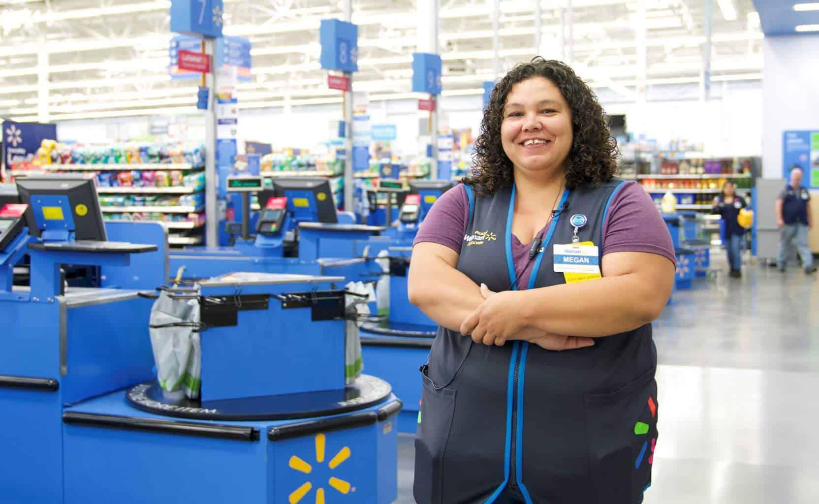 Walmart staff