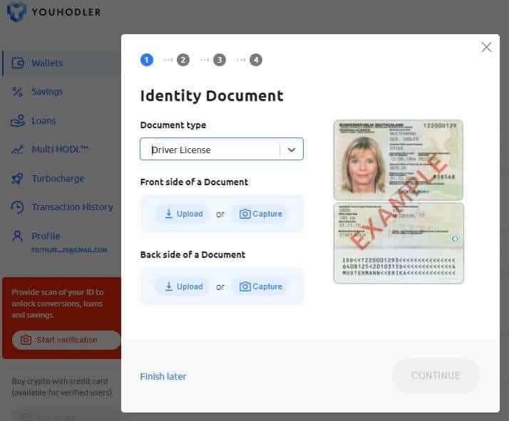 YouHoder identity verification | Learnbonds