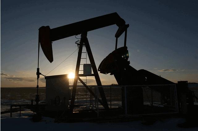oil rig WTI brent