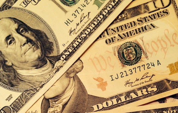 dollar second