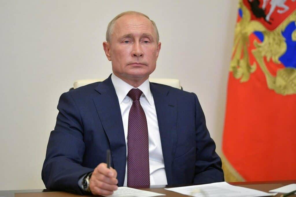 Russian president Vladimir-Putin
