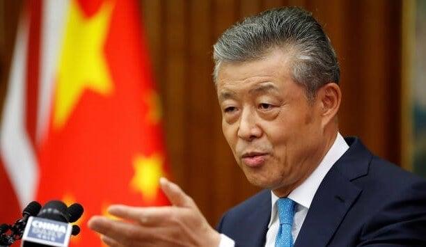 Huawei China's UK ambassador Liu Xiaoming