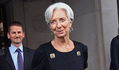 ECB president Lagarde