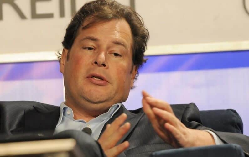 Dow Salesforce led by chief executive Marc Benioff