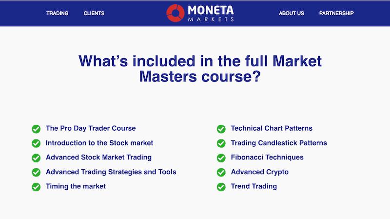 Moneta Markets Education