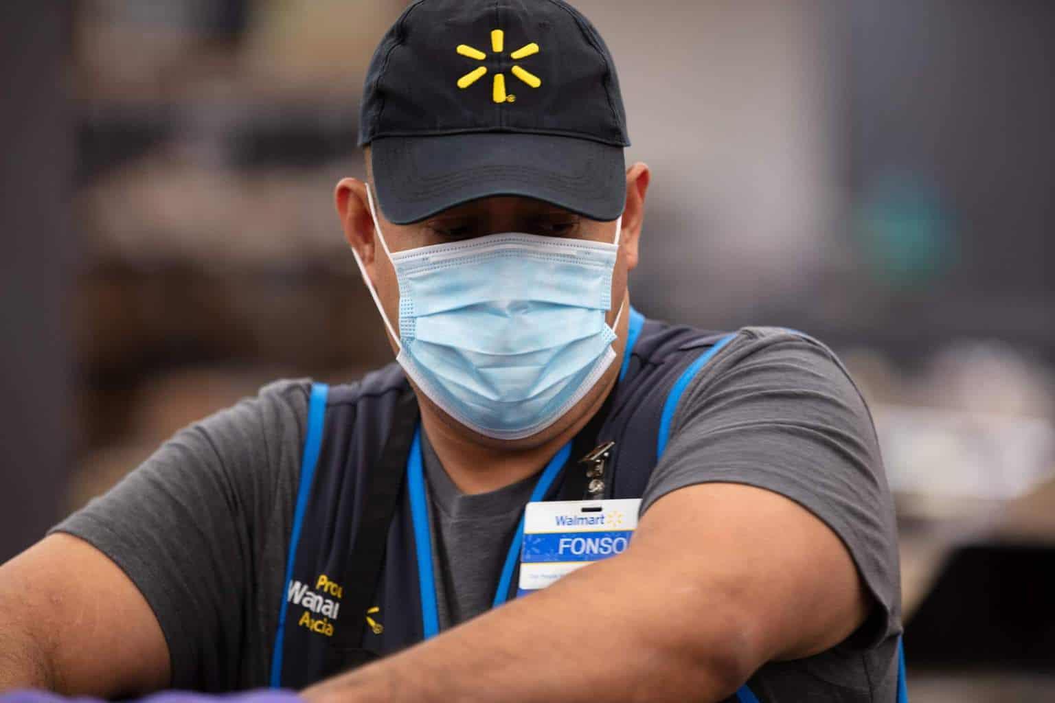 Walmart (WMT) employee