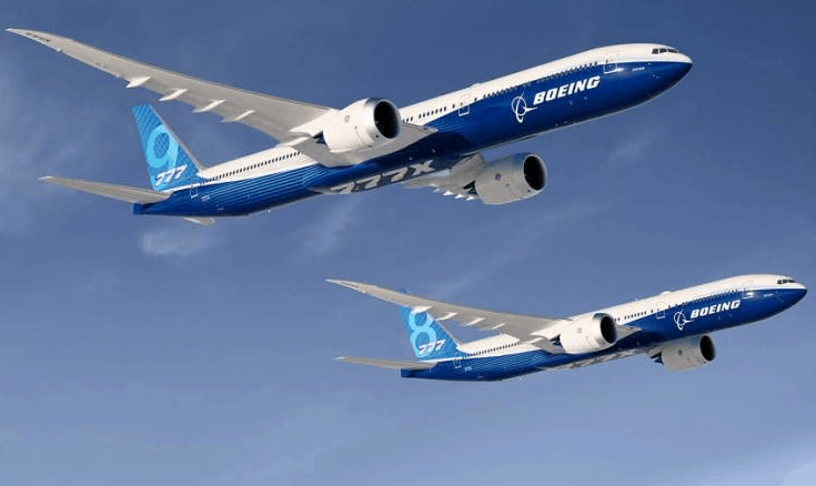 boeing shares 2