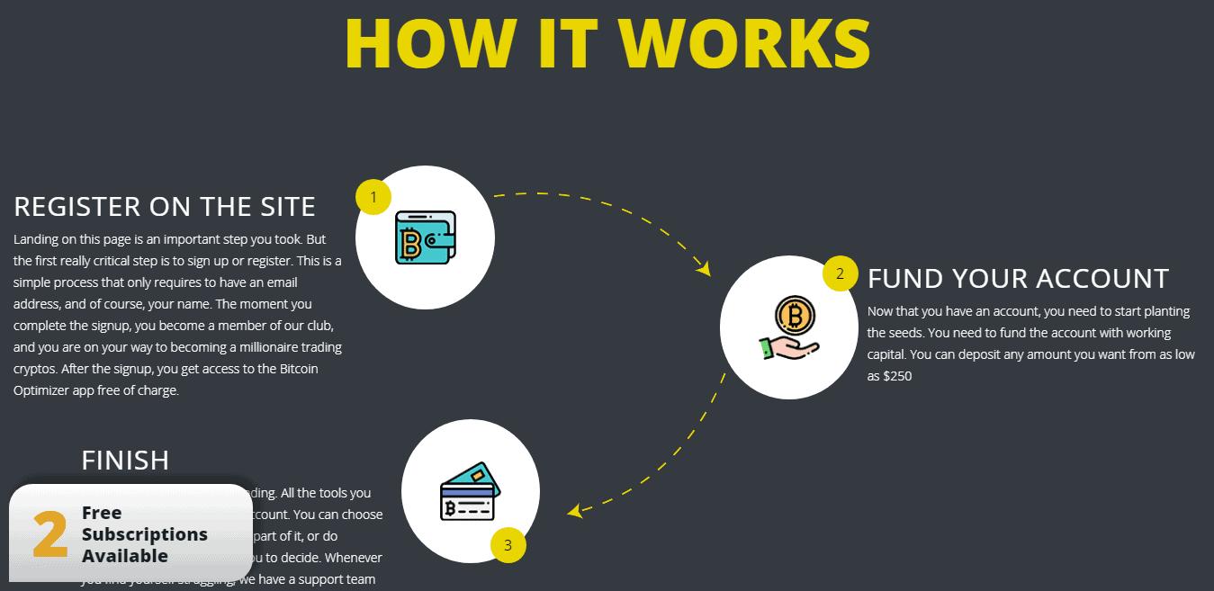 påmeldingsprosess for bitcoin optimizer