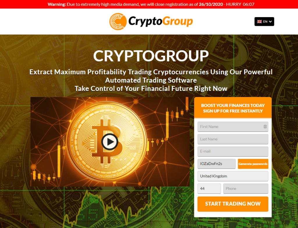 crypto group review