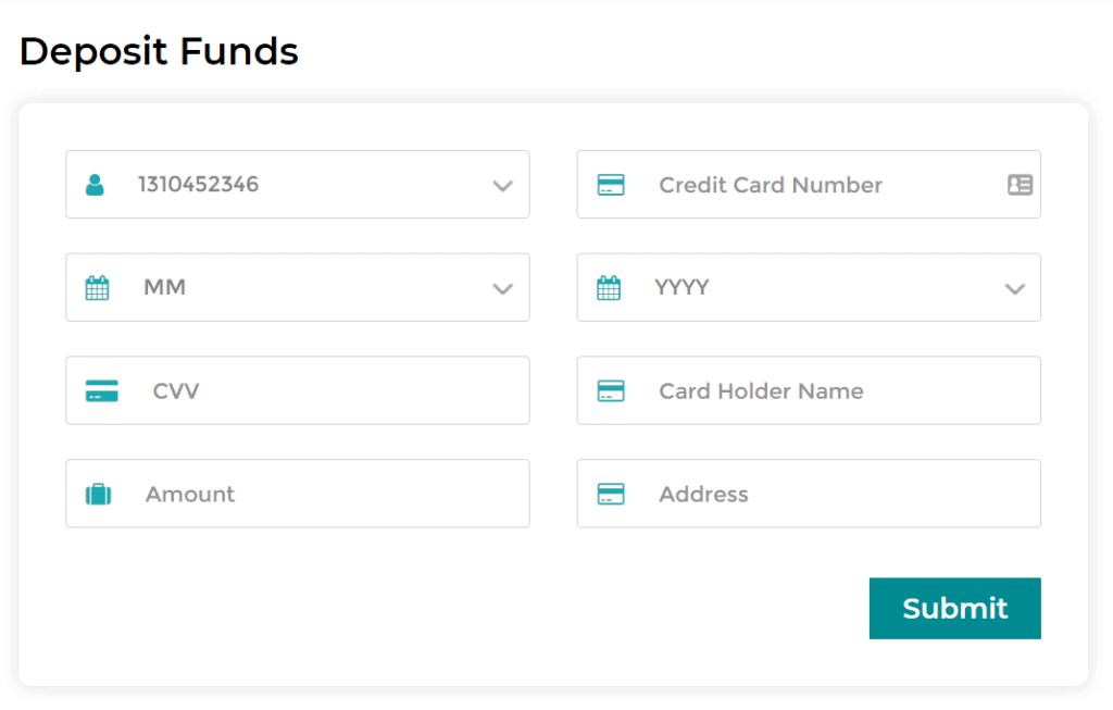 deposit funds bitql