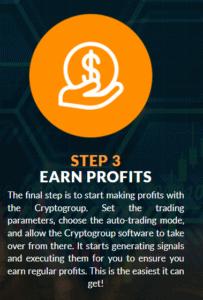 step 3 earn profits