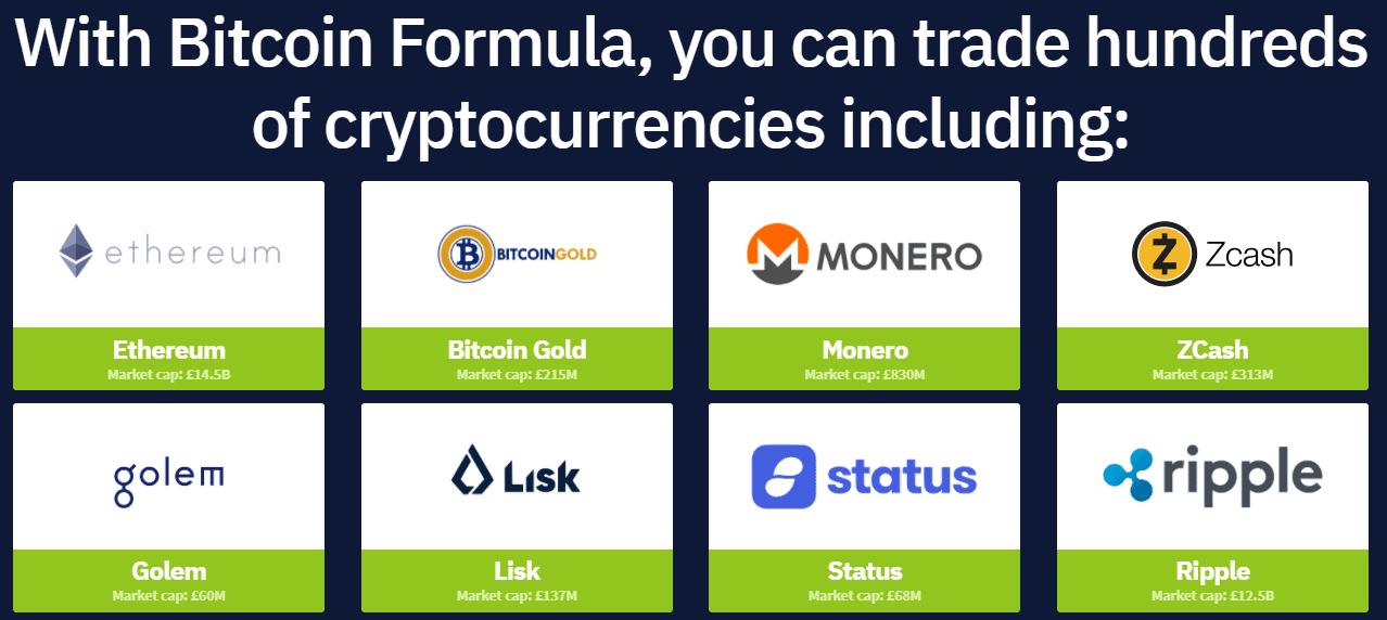 bitcoin formula crytocurrencies