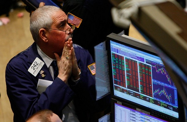 us stock futures - worried trader