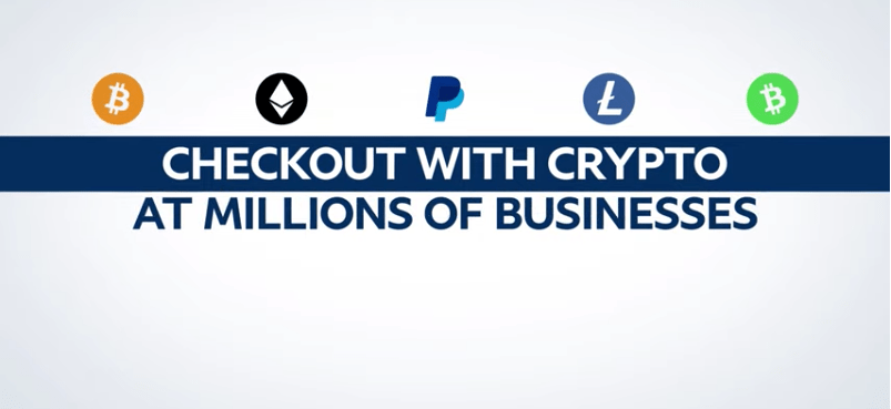 paypal checout with crypto