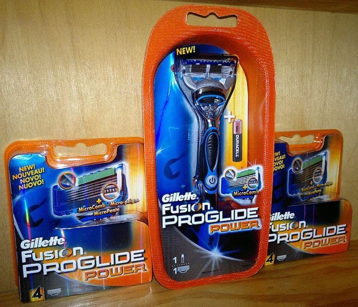 Public Domain https://commons.wikimedia.org/wiki/File:Gillette_%28Fusion_ProGlide_Power%29.jpg