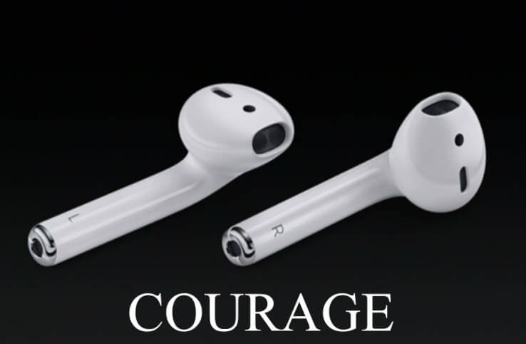 Apple AAPL Airpod Courage