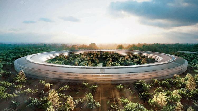Apple Inc. (NASDAQ:AAPL) Campus 2