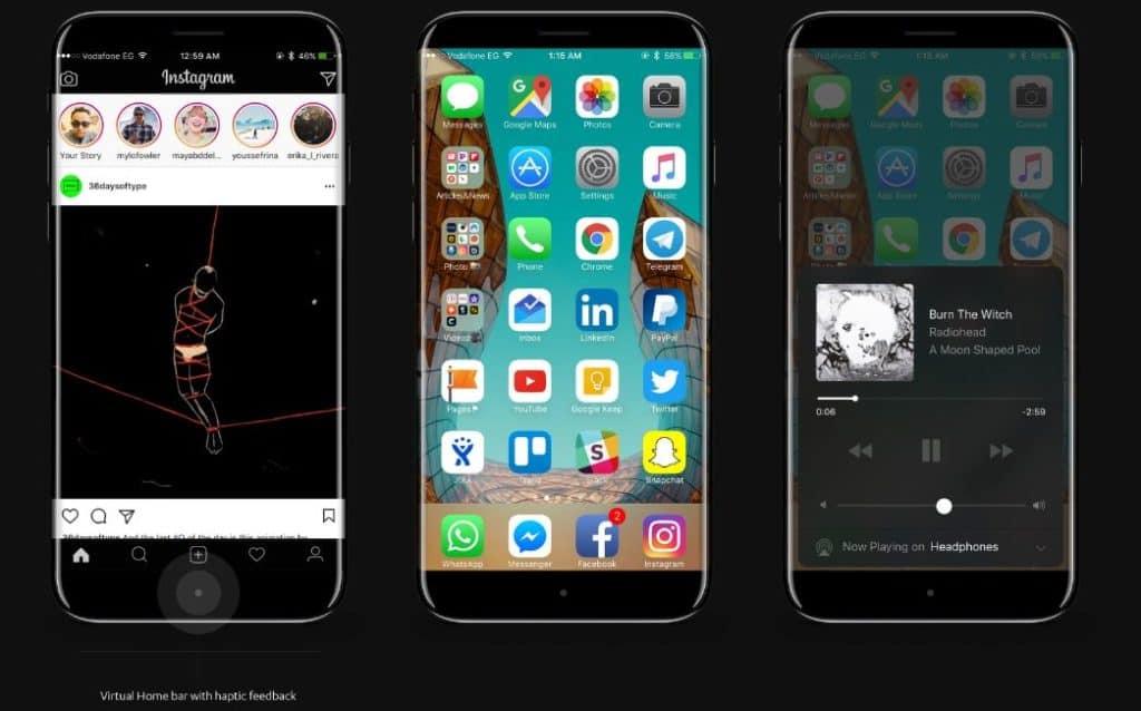 Apple iPhone 8 Mockup 1