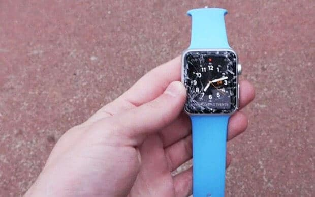 Apple inc watch broken