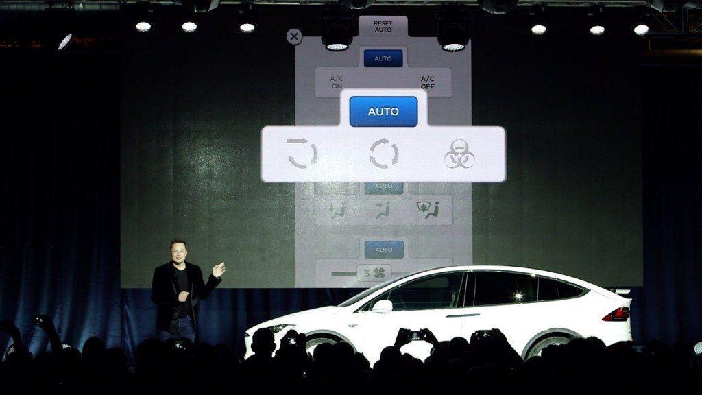 Tesla Motors Inc (TSLA) Model X Bio weapon Defense Mode