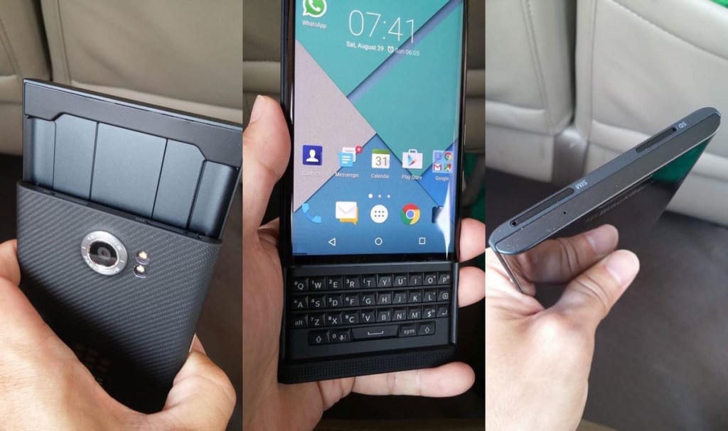 Blackberry Ltd (BBRY) Priv Slider Android OS phone
