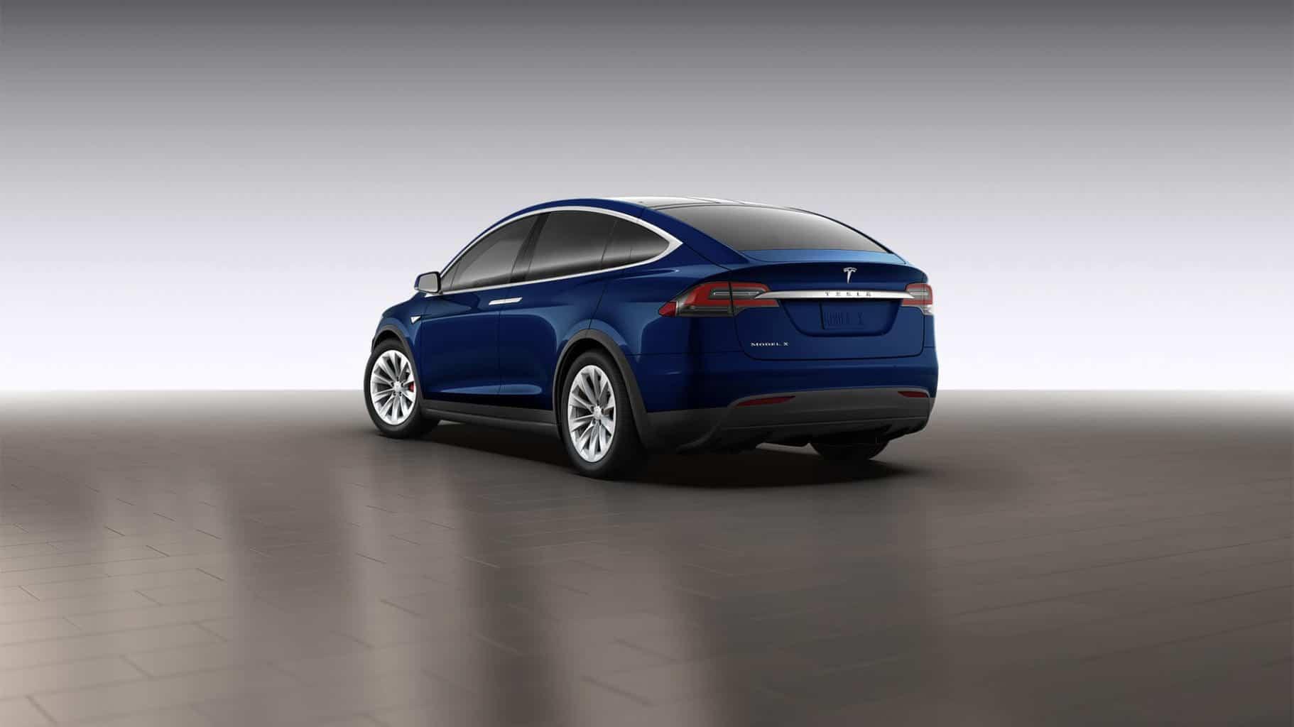 Tesla Motors, Inc (TSLA) Model X with 250 mile range