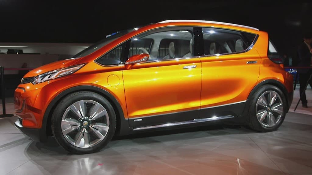 Tesla Motors Inc (TSLA) Rival Chevy Bolt