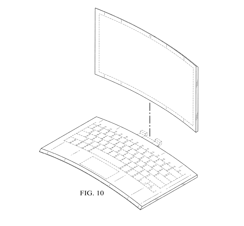 Curved Intel patent by the Leaker