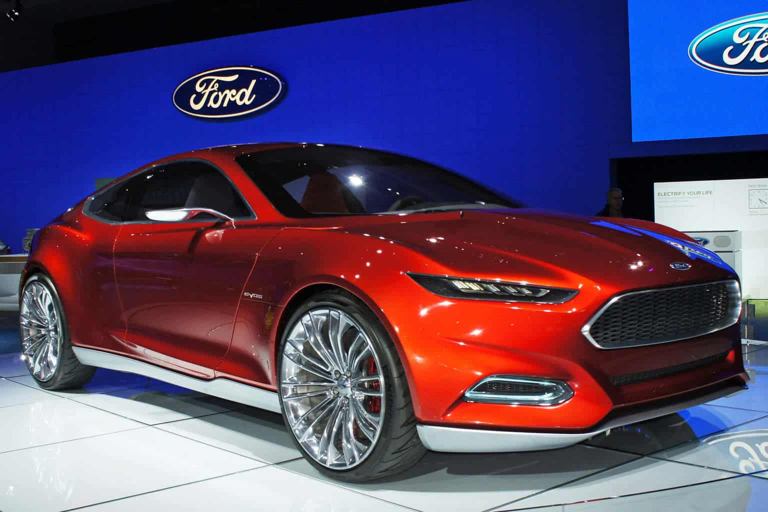 Ford Motors Company sales fly