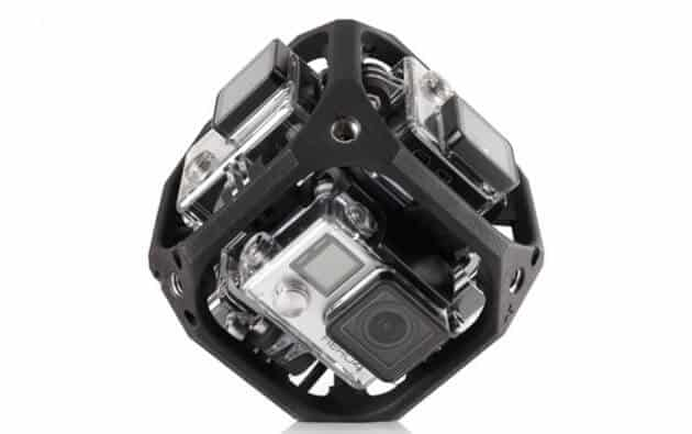 GoPro Inc GPRO Six-Camera Spherical Array